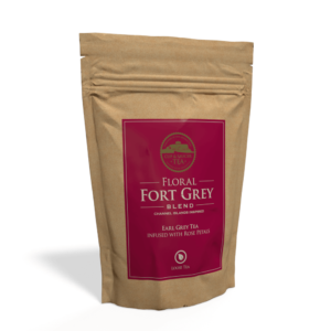 Floral Fort Grey Tea - 250g Pouch of Loose Tea Front