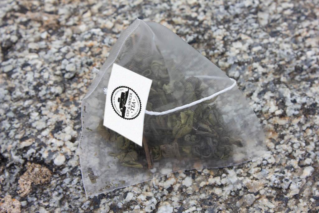 Lemon Gunpowder Biodegradable Tea Bags