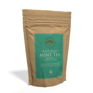 Maglorious Mint Tea - 250g Pouch of Loose Tea Front
